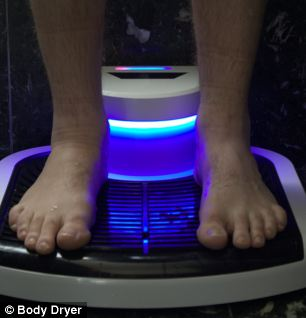 New Invention: Body Dryer Gets You Dry After Bathing ... Photo Gallery Online